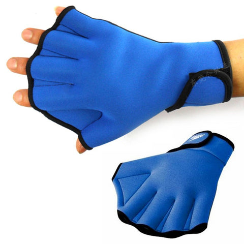 1 Pair Sphere Webbed Swim Gloves Surfing Swimming Sports - Idiyka.com