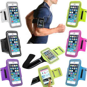 Cover for iPhone 6 Gym Arm Band Nylon Case For iphone 5 5S 6 6S Idiyka