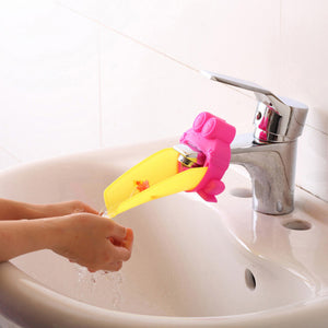 Bathroom Sink Faucet Chute Extender  Kids Washing Hands - Idiyka.com