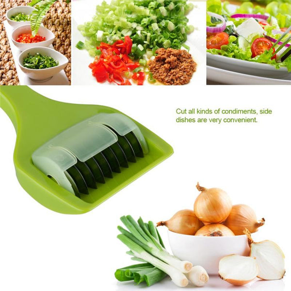 Onion Chopper Slicer Garlic Coriander Cutter - Idiyka.com
