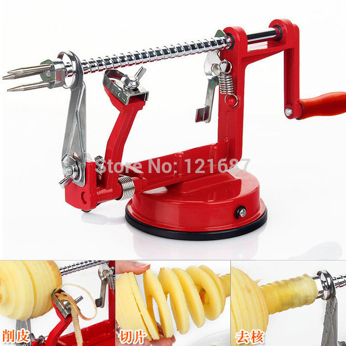 3 in 1 apple peeler fruit  slicing machine - Idiyka.com