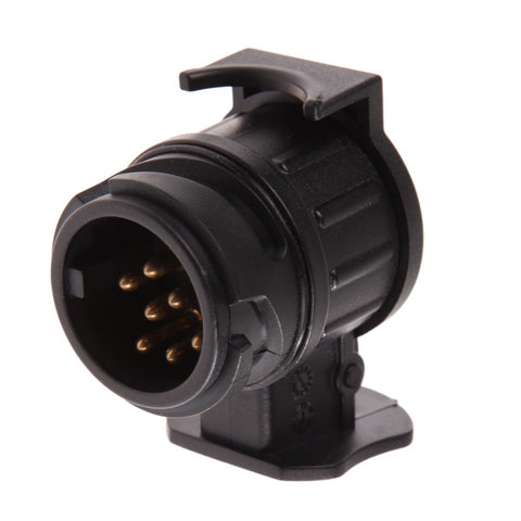 12V 13 To 7 Pins Plug Adapter Electrical Converter Truck - Idiyka.com