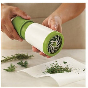 1pc herb grinder Spice Mill Parsley Shredder Chopper Fruit Vegetable Cutter - Idiyka.com