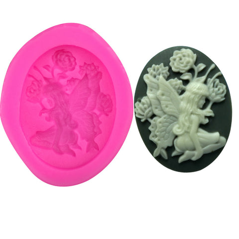 Cake decoration tool silicone mold