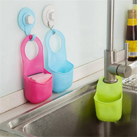 Creative Folding Silicone Hanging Storage Holders