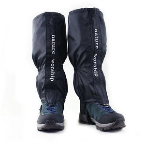 1 Pair Waterproof Hiking Walking Climbing Hunting Snow Legging Gaiters - Idiyka.com