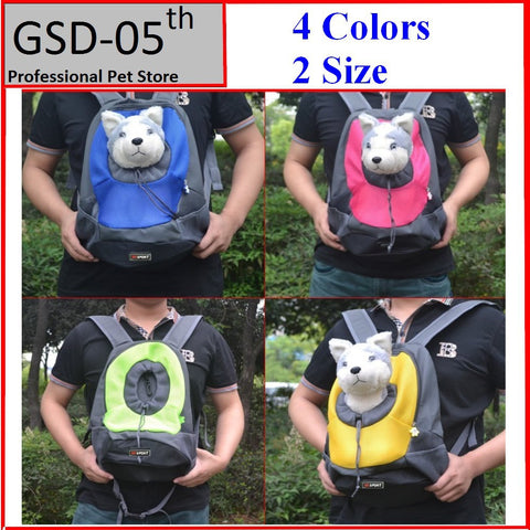 Dog Carrier Pet Backpack Portable Travel Bag Idiyka