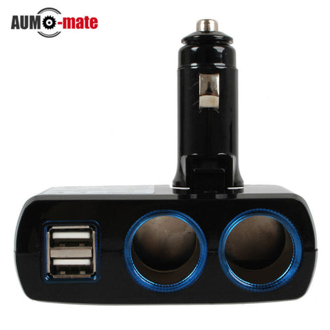 12V-24V Cigarette Lighter Adapter USB Car Chargers - Idiyka.com