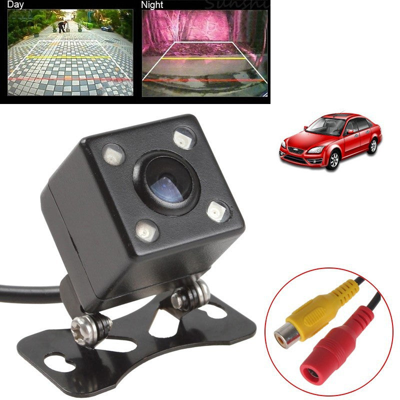 IP67 Waterproof Rear View Camera LED Car Back Reverse RCA Night Vision - Idiyka.com