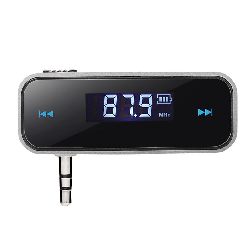 Car FM Transmitter For Smart Phone Bluetooth  Auto Player Audio Devices Fm Modulator LCD Display - Idiyka.com