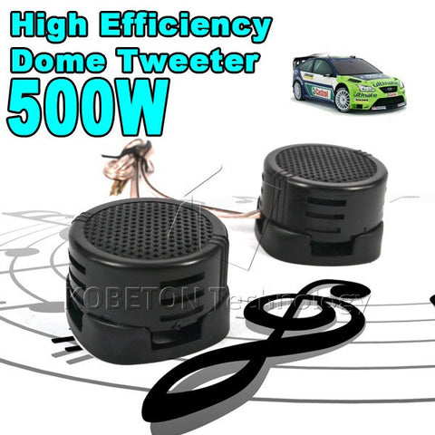 1pair 2x 500W Loud Speaker Super Power Audio Sound Klaxon Tone For Car - Idiyka.com