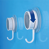 Powerful Vacuum Suction Hooks  Bathroom Tile  Super Load
