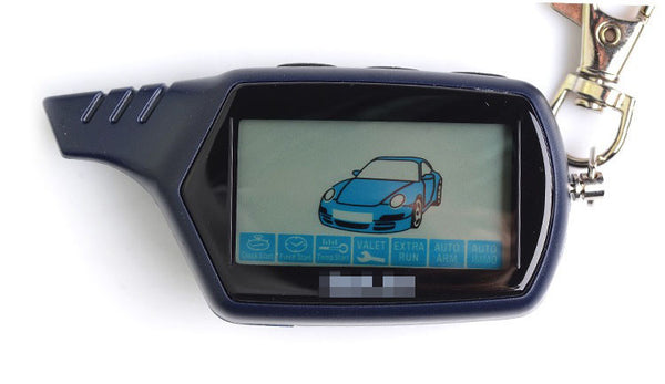 B9 Starline LCD Remote Controller For Two Way Car Alarm Starline B9 Keychain - Idiyka.com