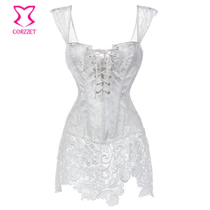 Bustiers Sexy Gothic Wedding Korsett For Women - Idiyka.com
