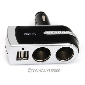 Car Splitter Cigarette  Charger with Micro USB Port - Idiyka.com