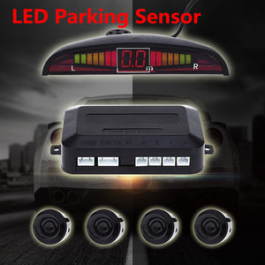 1 Set Car Parking Sensor Kit Car Auto LED Display 4 - Idiyka.com