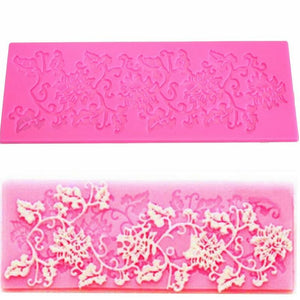 1Pcs Flowers Shape Silicone Lace Mold - Idiyka.com