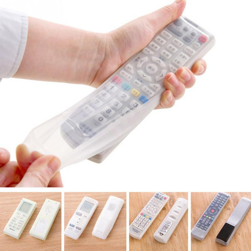 1 pc Storage Bags TV Remote Control Dust Cover Protective Holder Waterproof - Idiyka.com