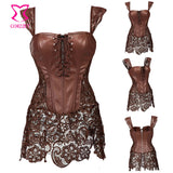 Bustiers Sexy Gothic Wedding Korsett For Women Idiyka