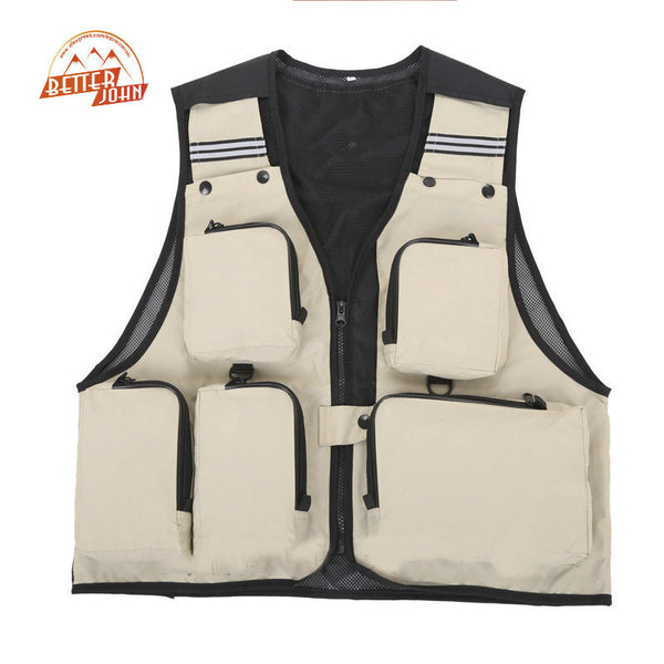 Fishing Vest Summer Fishing Vest Multi Pocket - Idiyka.com
