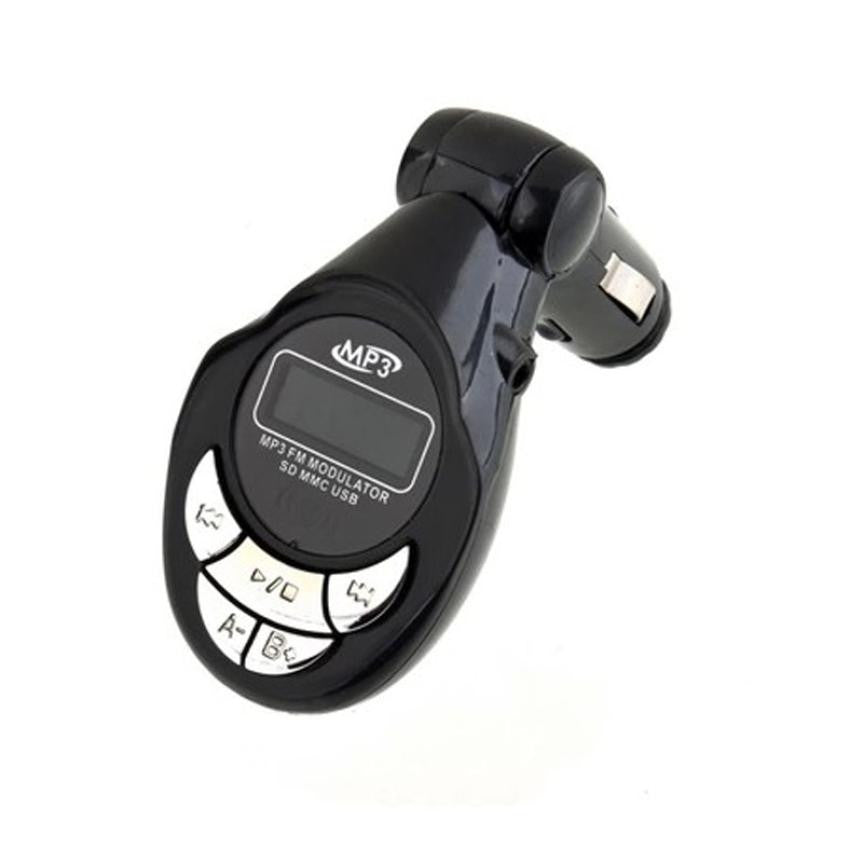 Car MP3 Player Wireless FM Transmitter Modulator USB SD CD MMC - Idiyka.com