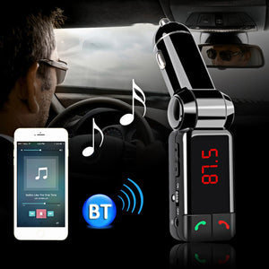 Car FM Bluetooth Transmitter MP3 Audio Player Wireless - Idiyka.com