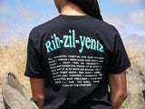 The Rih-Zil-Yentz Tee | Black