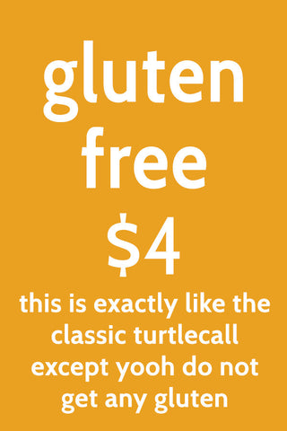 the gluten-free turtlecall