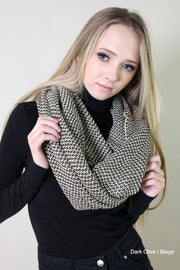 Viverano Organic Cotton Soft Knit Infinity Scarf - Eco-friendly Gifts