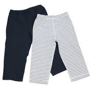 Viverano Venice Organic Cotton Legging Pants for Babies - 2 Pack