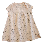 Viverano Florence Dot Organic Cotton Dress Top -Short Sleeve