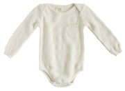 Viverano Milan Organic Cotton Full Sleeve Romper Bodysuit for Babies