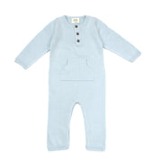Milan Knit Kangaroo Pocket Coverall Romper