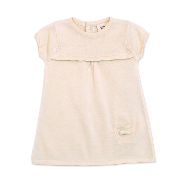 Milan Knit Dress Top - Short Sleeves (4 Colors)