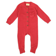 Marseille Organic Cotton Knit Coverall for Babies - Viverano