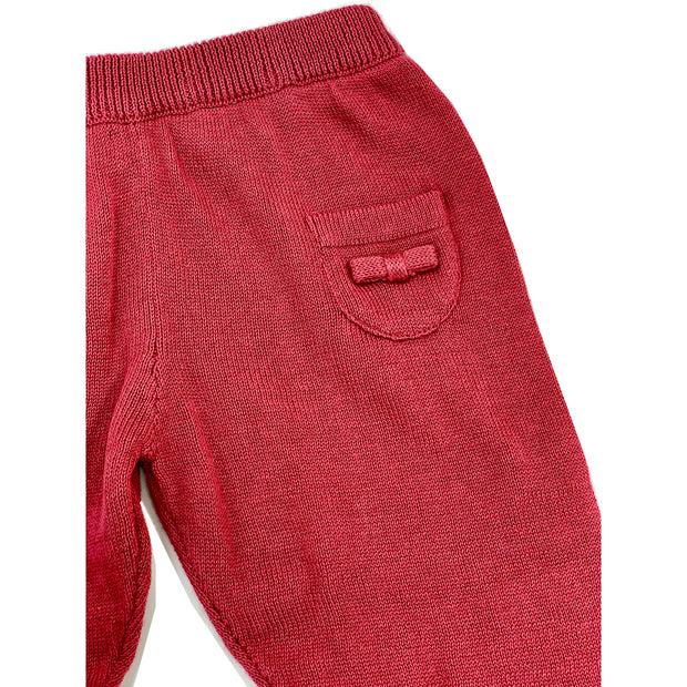 Marseille Organic Cotton Knit Pants for Babies - Viverano