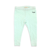 Organic Cotton Pointelle Legging for Babies by Viverano