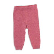 Milan Organic Cotton Heather Knit Legging Pants for Babies by Viverano