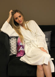 Organic Cotton Spa Bath Robe