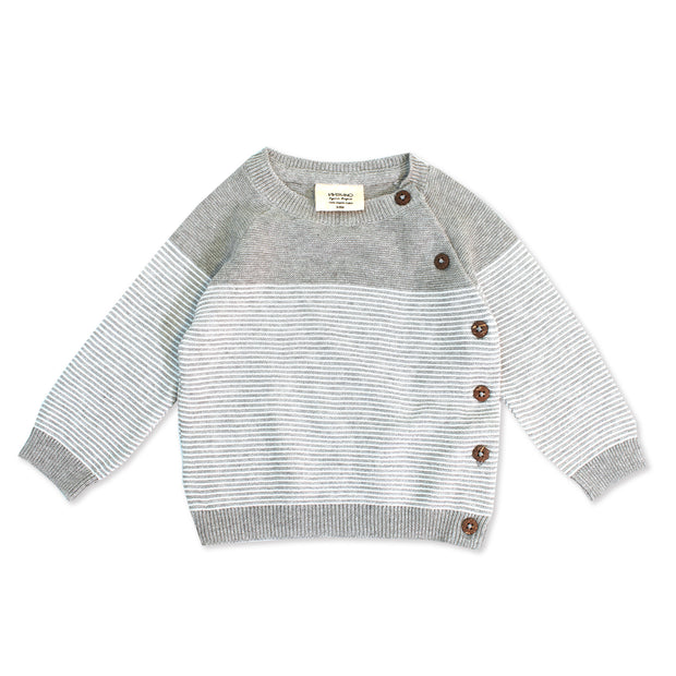 Marseille Knit Raglan Button Pullover