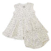 Florence Pebble Skater Dress + Bloomer Set