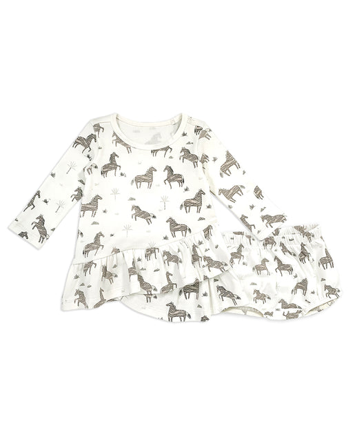 Wild & Free Horse Organic Cotton Baby Clothes by Viverano