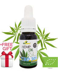 30% Organic CBD Oil (3000mg in 10ml) Biopurus