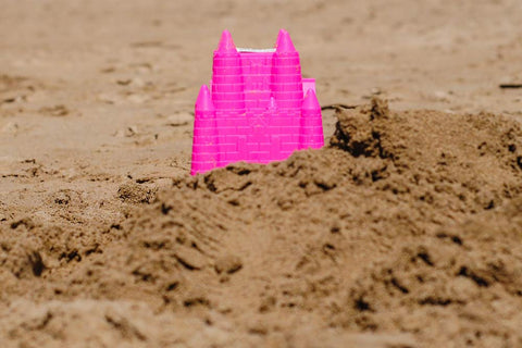 Artificial Ingredients Pink Sand Castle
