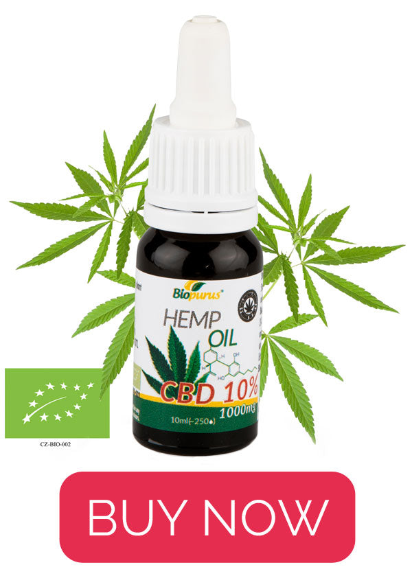 Best Biopurus oil: 10% CBD oil