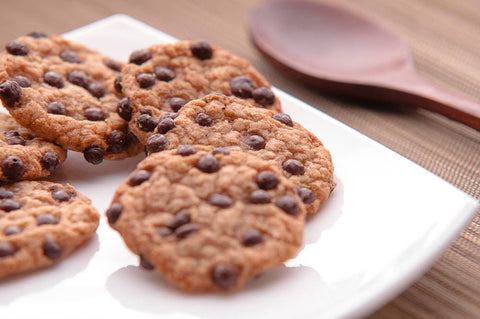 CBD choc-chip cookies
