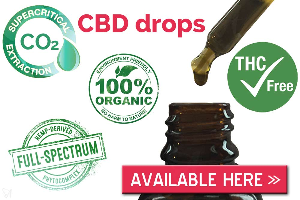 CBD drops collection