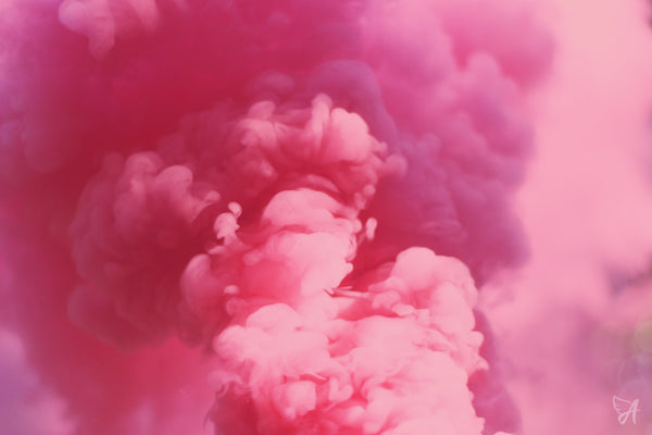 CBD e-Liquid collection pink smoke