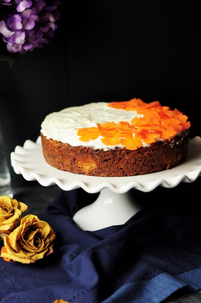 Carrot and CBD Cake