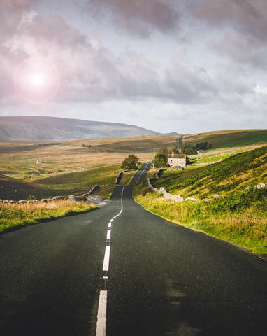 English Countryside Road